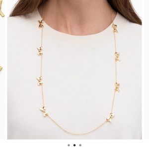 KATE SPADE ♠️ necklace with dust bag